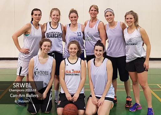 Saskatoon Sr. Womens  Basketball League f703f1342a